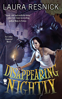 Esther Diamond: Disappearing Nightly by Laura Resnick